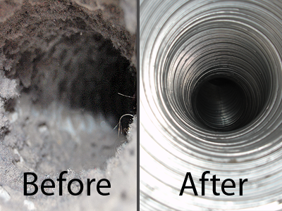 Generation dryer vent cleaning